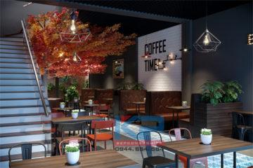 Setup hệ thống quầy pha chế cho quán cà phê tại Hà nội