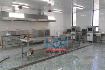 Lắp đặt khu bếp ăn công nhân tại Phú Thọ