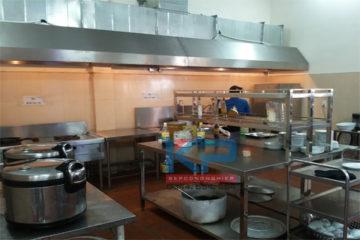 Lắp đặt bếp một chiều mầm non  tại Bắc Ninh