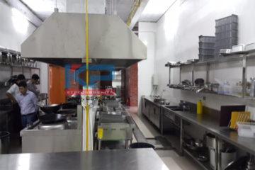 Lắp đặt bếp ăn cho công ty than tại Quảng Ninh