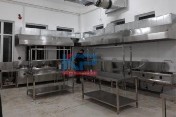 Lắp đặt hệ thống bếp điện từ kết hợp bếp ga