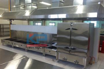 Thi công bếp inox cho khách sạn 4 sao tại Quảng Ninh