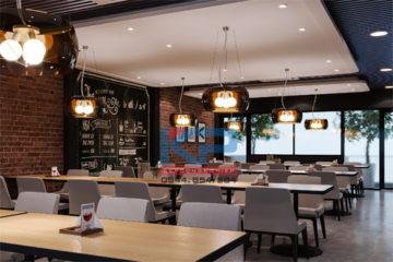 Thi công hệ thống bếp ăn nhà hàng Gia Lâm- Hà Nội