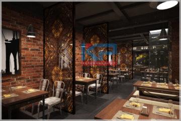 Lắp đặt thiết bị bếp nhà hàng Piza tại Hà Nội