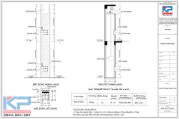 Lắp đặt thang máy tải hàng tại Hà Nội