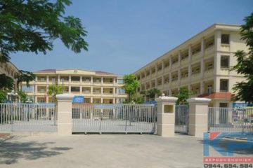 Lắp đặt thang tời thức ăn tại trường tiểu học Nam Từ Liêm Hà Nội