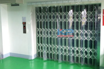 Lắp đặt thang tải hàng 1500 kg tại KCN Bắc Thăng Long , Hà Nội