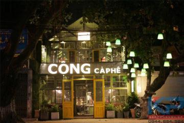 Lắp đặt thiết bị inox cà phê tại Lò Đúc- Hà Nội