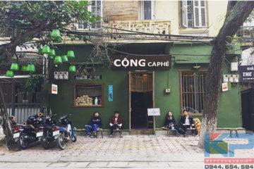 Lắp đặt thiết bị quầy bar Cộng Triệu Việt Vương- Hà Nội