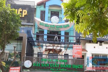 Thang tải thực phẩm nhà hàng hải sản tại Hà Nội