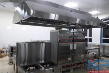 Lắp đặt bếp trường học tại Hải Dương