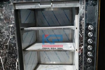 Lắp đặt thang tời thực phẩm 100kg
