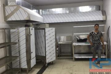 Lắp đặt bếp ăn cho nhà máy tại Hà Nội