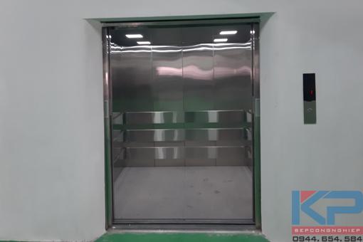 Báo giá và lắp đặt thang tời hàng 1500kg