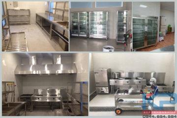 Mô hình lắp đặt bếp ăn Mầm non- Trường học