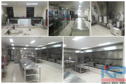 Lắp đặt bếp ăn cho Công nhân- Văn phòng