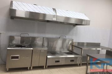 Lắp đặt thiết bị bếp nhà ăn cho công nhân tại Thanh Xuân