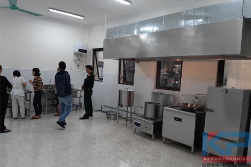 Cung cấp thiết bị nhà bếp cho Quân Đội tại Hà Nội