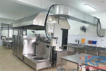Tổng hợp các mẫu thiết bị inox bếp công nghiệp
