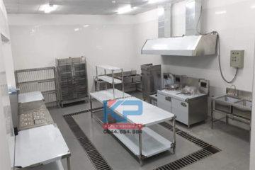 Thiết bị bếp cho công nhân 100 suất ăn tại Hưng Yên