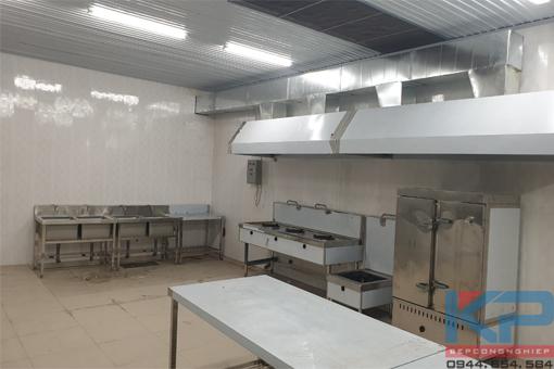 Lắp đặt bếp ăn công nhân cho nhà máy Iritani tại Hải Dương