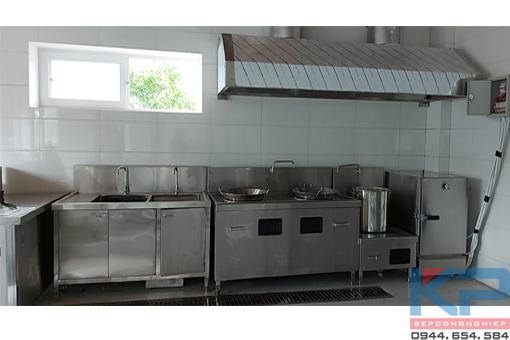 Lắp đặt bếp ăn công nhân nhà máy Vihamark tại Hà Nam