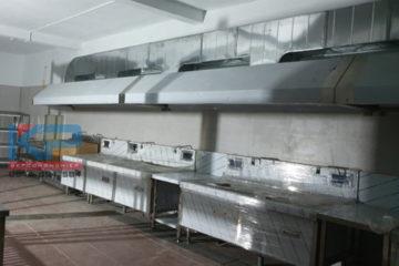 Thiết bị bếp công nghiệp cho Văn Phòng 300- 500 nhân viên