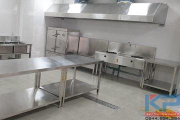 Thiết bị bếp công nghiệp cho Viện Khoa Học