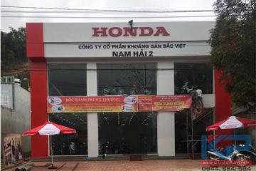 Thang chở xe máy lắp đặt tại Hà Giang